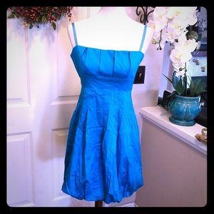 Biancoghiaccio NWT Bright Sky Blue Bubble Dress